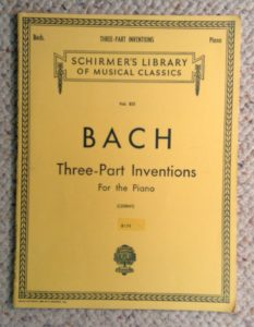 Bach Three Part Inventions