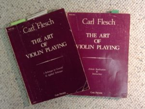 Carl Flesch violin curriculum