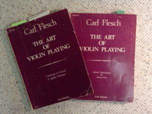 Carl Flesch violin curriculum