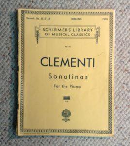 Piano curriculum Musio Clementi
