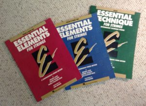 Essential Elements violin curriculum