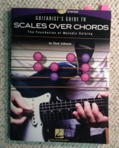Scales Over Chords guitar curriculum