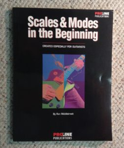 Scales and Modes guitar curriculum