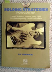 Soloing Strategies guitar curriculum