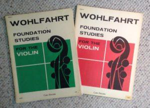Wohlfahrt violin curriculum