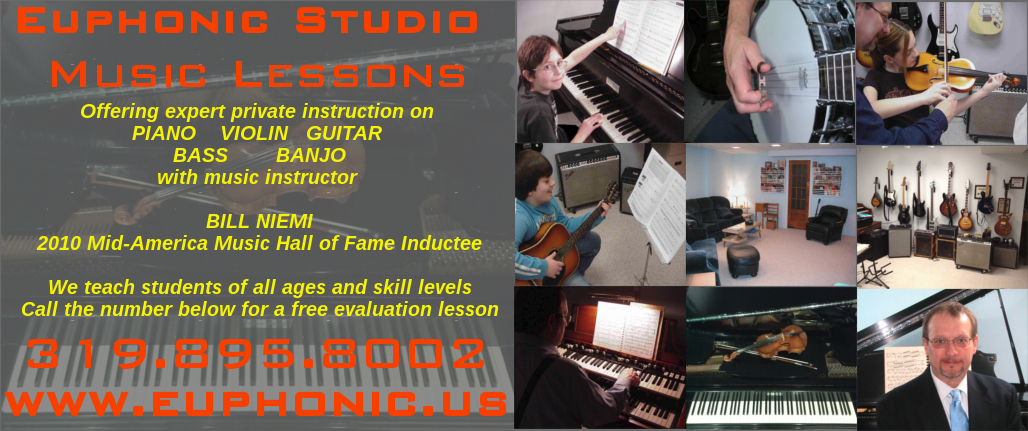 Welcome To The Euphonic Studio Music Lessons Blog